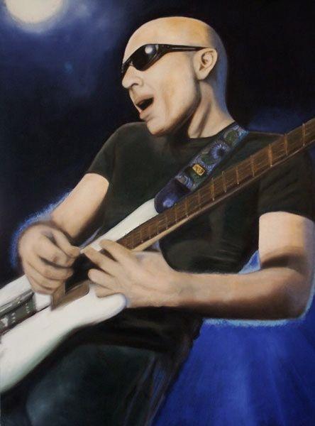 Joe Satriani by Qwiepke